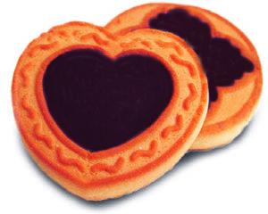 Печенье «Мое любимое» с начинкой из глазури