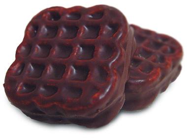Печенье «Трио» с фруктовой начинкой глазированное