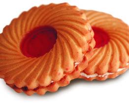 Печенье «Малина со сливками»