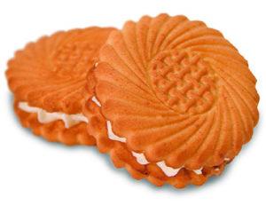 Печенье «Улыбка» со сливочной начинкой