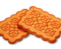 Печенье «Земляничное» с фруктозой