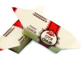 Конфеты «Крем-суфле клюквенное глазированное»