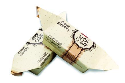 Конфеты «Крем-суфле сливочное глазированное»