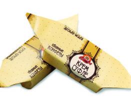 Конфеты «Крем-суфле крем-брюле глазированное»